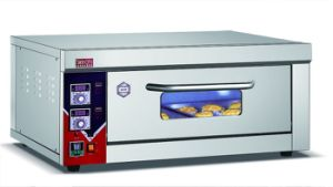 Cheering Timing Alarm Decice Electric Food Convection Oven for Bakery pictures & photos