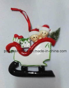 Customized Material of Polyresin Christmas Ornaments pictures & photos