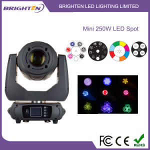 Smaller 250W LED Moving Head Spot Stage Light pictures & photos