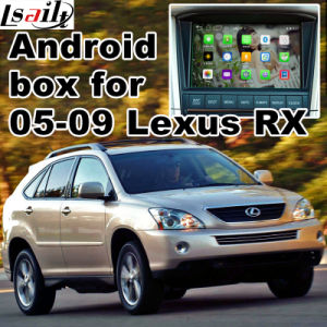 Android 5.1 4.4 GPS Navigation Box for Lexus Rx400h Rx330 Rx350 2005-2009, Android Navigation Rear and 360 Panorama Optional pictures & photos