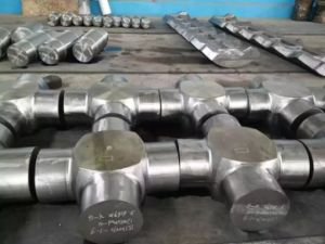 Forged Carbon Steel Cross Shaft pictures & photos