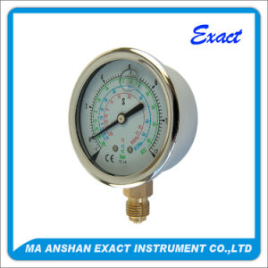Refrigeration Manometer-R22 Pressure Gauge-Freon Manometer pictures & photos