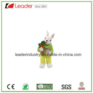 New Decorative Easter Rabbit Figurines for Home and Lawn Decoration pictures & photos
