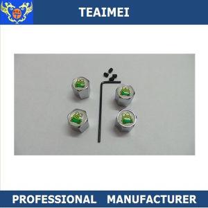 4 PCS Customized Logo Auto Air Valve Stem Cap
