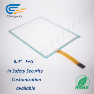 8.4 Inch 4 Wire Resisitve Display Screen for Security Monitiring System pictures & photos