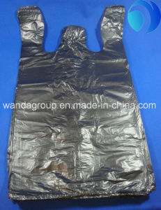 HDPE Printing Biodegradable Virgin T-Shirt Plastic Bag pictures & photos