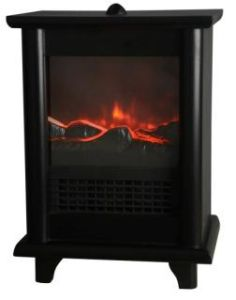 Electric Heater Electric Fireplace with LED Flame Effect pictures & photos