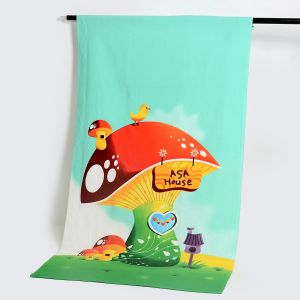 Good Quality Microfiber Beach Towel with Customized Design, Cotton Towel pictures & photos