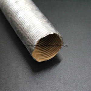 Heat Shield Fiber Glass Aluminium Protective Corrugated Tube pictures & photos