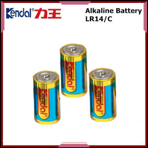 1.5V C Am-2 Primary Dry Cell Lr14 Alkaline Battery pictures & photos