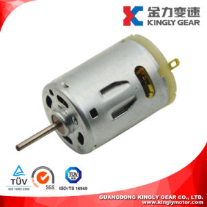 24V DC Micro Motor, Electric Carbon-Brush Motor pictures & photos