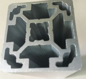 Silver Matt Anodized Aluminium Industrial Profile pictures & photos