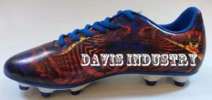 Ancient Print of Soccer Boots for Men pictures & photos