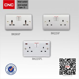 Household British Standard Wall Switch pictures & photos