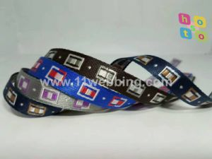 Hot Sale Nylon&Polyester Jacquard Webbing for Bag/Clothing/Garment/Ornament/Strap Jewelry Accessories pictures & photos