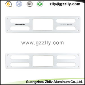 Anodized Aluminum Audio  Front Panel for Building Material pictures & photos