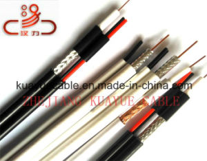 Composite Cable RG6 Coaxial Cable+Powercable pictures & photos