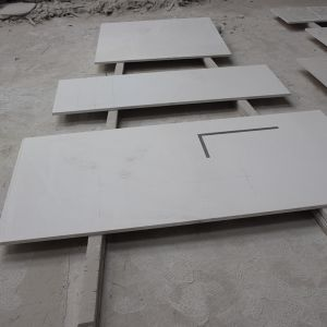 Building Material Sparkle White Quartz Countertop in Wholesale pictures & photos