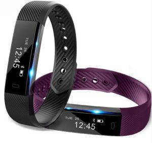 ID115 Smart Bracelet Fitness Tracker Step Counter for Smart Phone pictures & photos