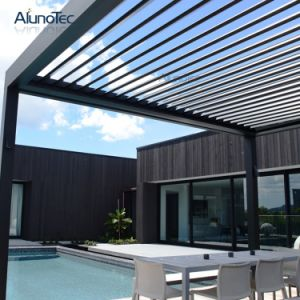 Motorised Waterproof Louver Roof System Automated Lourvre Roof Pergola pictures & photos