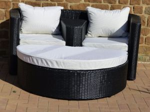 Venice Rattan Love Seat pictures & photos