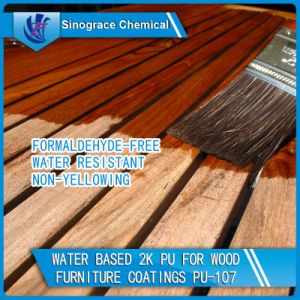 Water Based 2k PU for Wood Furniture Coatings pictures & photos