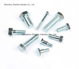 High Strength Steel, Hexagon Bolts 12.9 10.9 8.8, M6-M20 pictures & photos