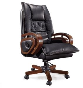 E1 Wooden Home Office Reception Conference Manager Chair (HX-7034) pictures & photos