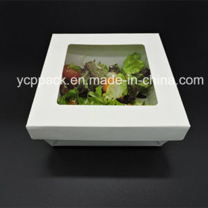 Disposable Waterproof Salad Paper Box pictures & photos