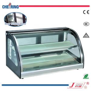 Cheering Counter Top Glass Heater Cabinet Showcase pictures & photos