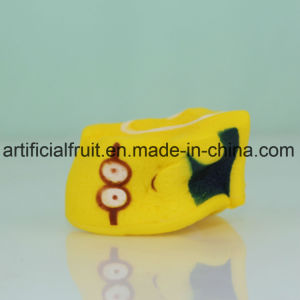 Slow Rebound PU Cake Yellow Foam Toys pictures & photos