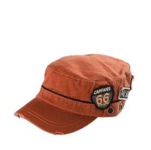 Washed Army Cap with 3D Woven Patch pictures & photos