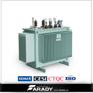 S11 10kv Oil Transformer 100kVA Distribution Oil-Immersed Power Transformer pictures & photos