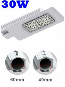 High Lumens 110lm/W 125W 175W Metal Halide Halogen Lamp 30W Solar 12V 24V LED Street Lamp pictures & photos