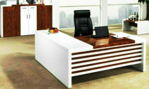 White Painting MDF School Executive Table Fashion Office Furniture (HX-AD809) pictures & photos