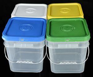 HDPE/PP Food Safe Clear Plastic Storage Bucket 2L 5L 8L 10L 15L 20L pictures & photos