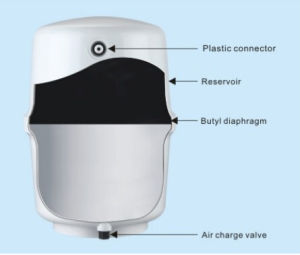 3.2G Plastic Water Pressure Tank for Household RO Water Purifier pictures & photos