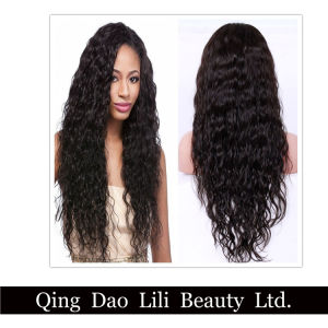 Fast Shipment Wet and Wavy Virgin Brazilian Human Hair Full Lace Wig pictures & photos