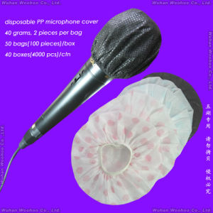 Disposable Sanitary Dust-Proof/SMS/Dustproof Nonwoven PP Mic Cover pictures & photos