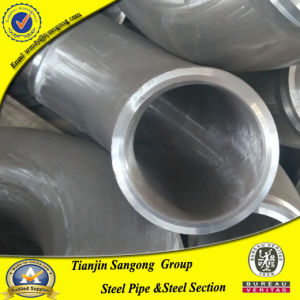 ASTM B 16.9 Butt Welded Bevel End Elbow Pipe Fitting pictures & photos