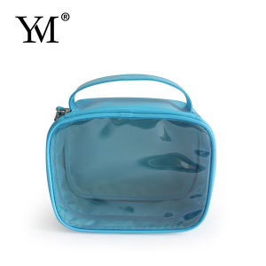 2015 High Quality Fashion PVC Window Cosmetic Bag pictures & photos