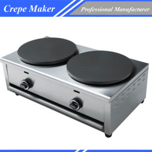 Double Gas Crepe Machine pictures & photos