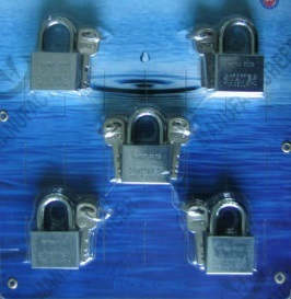 30mm Cheap Iron Padlock (405) pictures & photos