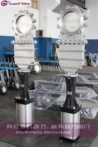 CF8 Knife Gate Valve with Ss304 Bonnect pictures & photos