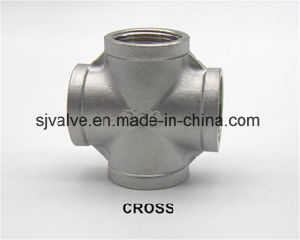 Stainless Steel Thread Equal Cross pictures & photos
