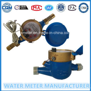 Dry Reed Pipe Pulse Output Water Meter pictures & photos