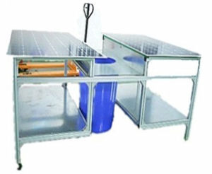 Automatic Solar Cell Module Edge Trimming Deflashing Machine