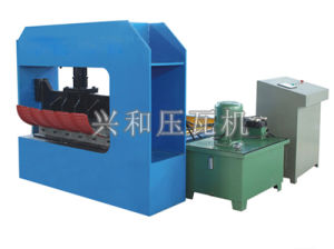 840 Curving Roof Sheet Cold Roll Forming Machinery pictures & photos