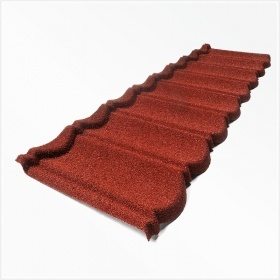 Stone Coated Metal Roof Tiles-Classical Tiles 7 Waves pictures & photos