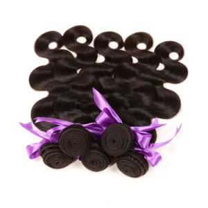 Bulk Buy From China Real Virgin Brazilian Body Wave Human Hair 16 Inch Hair Weft pictures & photos